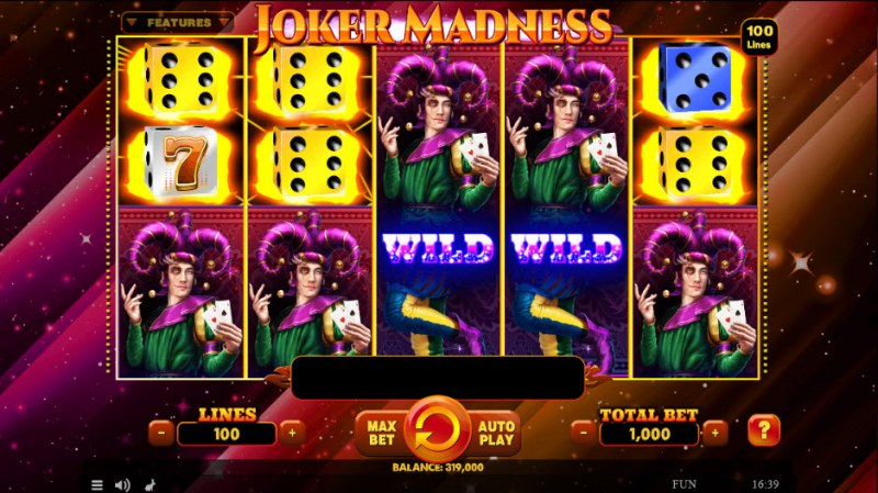 Joker Madness :: Multiple winning combinations