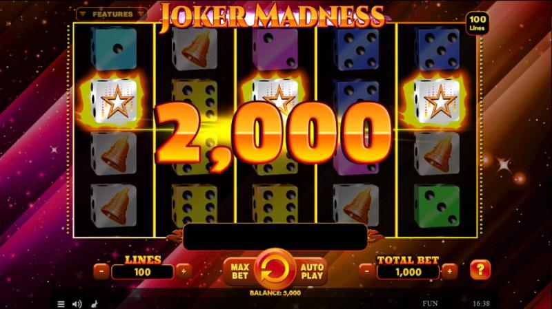 Joker Madness :: Scatter Win