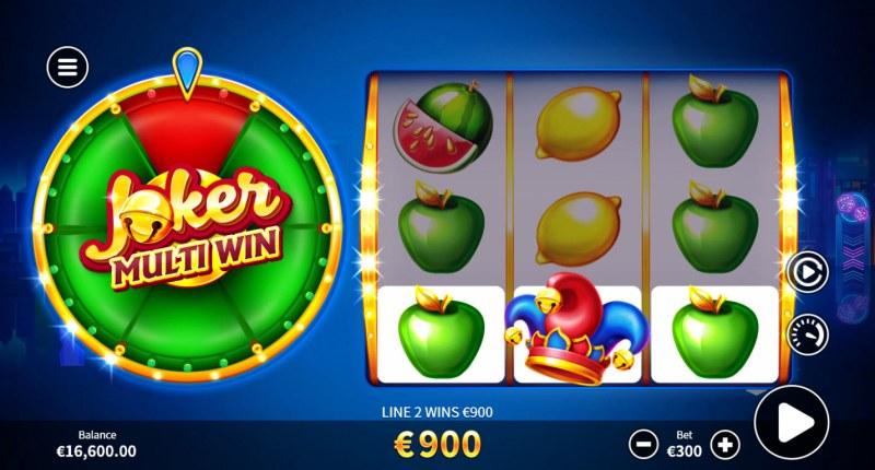Joker Multi Win :: A three of a kind win