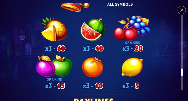 Joker Multi Win :: Paytable