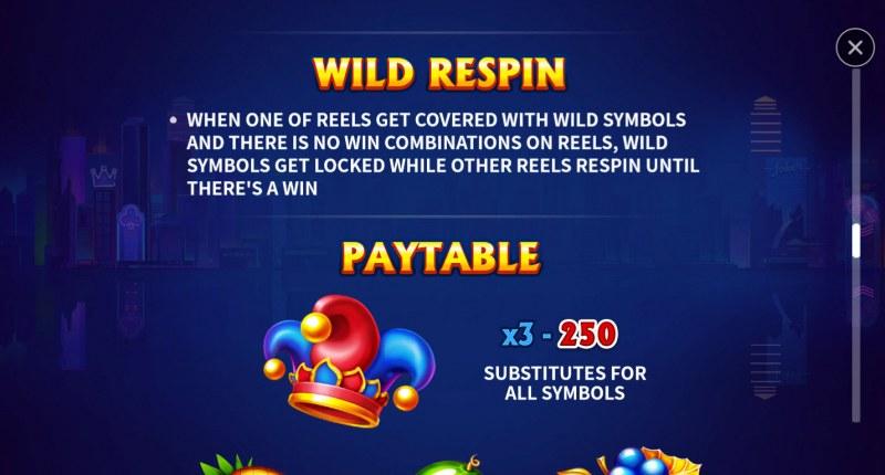 Joker Multi Win :: Wild Respin