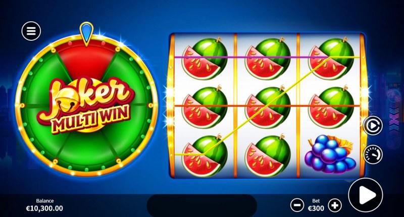 Joker Multi Win :: Multiple winning combinations lead to a big win