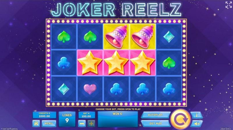 Joker Reelz :: Base Game Screen