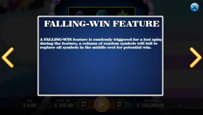 Joker Slot :: Falling-Win Feature