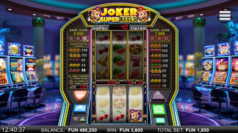 Joker Super Reels :: A three of a kind win