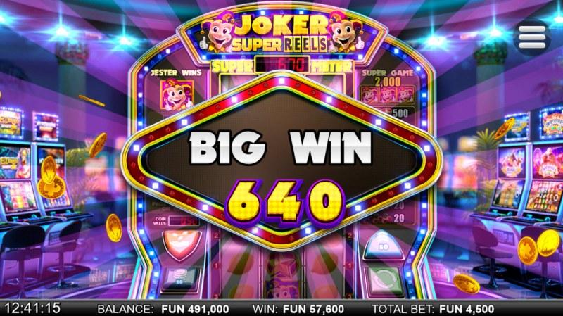 Joker Super Reels :: Big Win