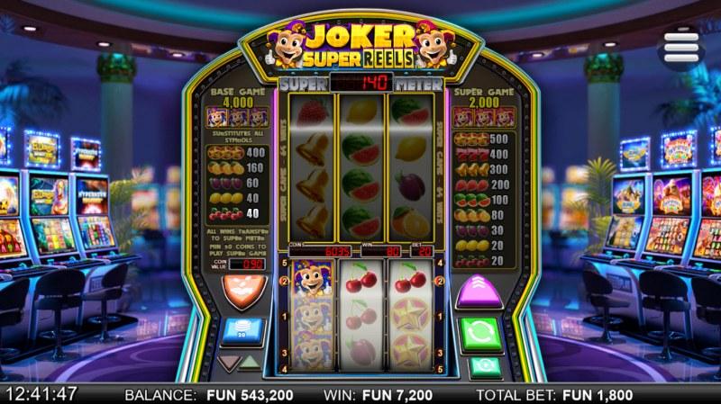 Joker Super Reels :: Multiple winning paylines
