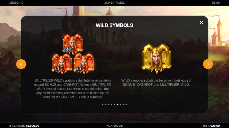Joker Times :: Wild Symbol Rules