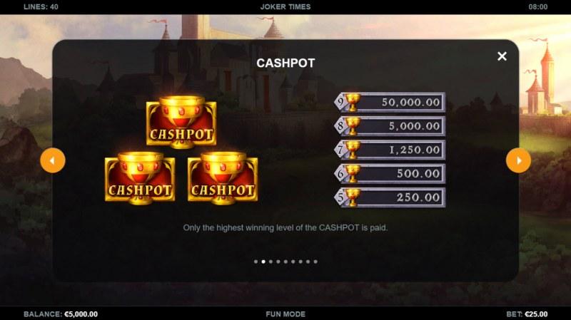 Joker Times :: Cashpot