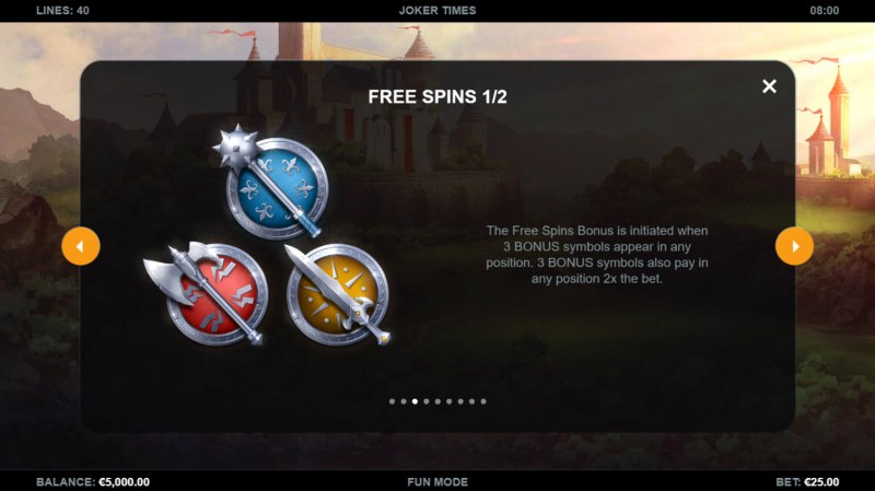 Joker Times :: Free Spin Feature Rules