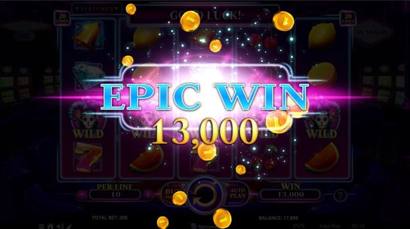 Joker Win :: Epic Win