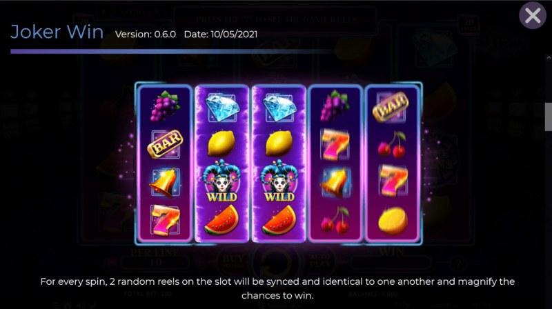 Joker Win :: Synced Reels