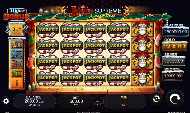 Joker Supreme X-mas Edition :: Main Game Board