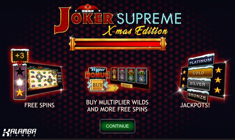 Joker Supreme X-mas Edition :: Introduction