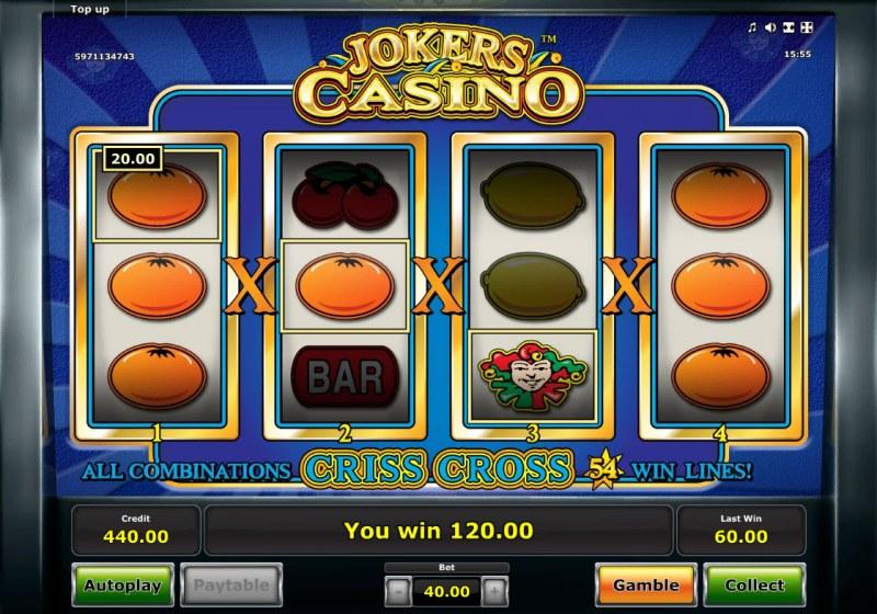 Jokers Casino :: Multiple winning combinations