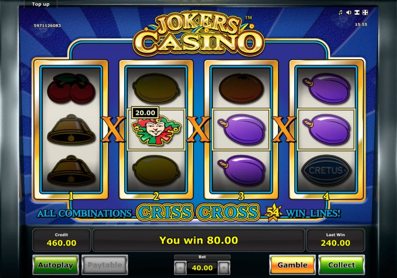 Jokers Casino :: Game Pays In Both Directions