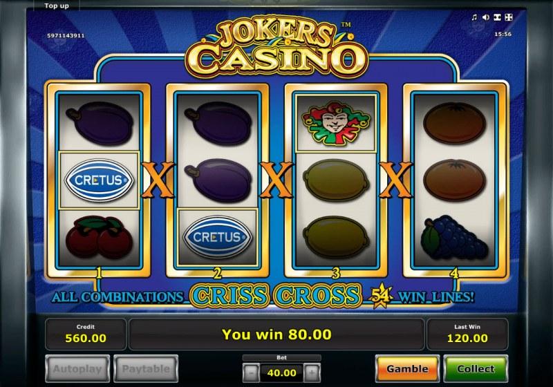 Jokers Casino :: Mystery Win