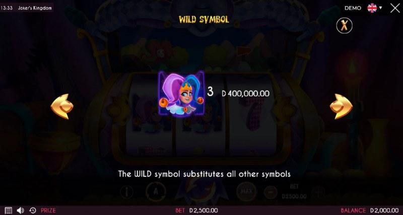 Joker's Kingdom :: Wild Symbols Rules
