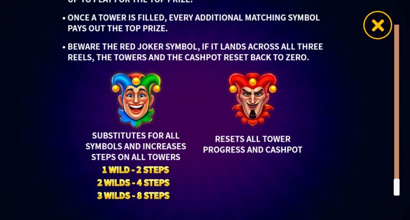 Joker's Luck Deluxe :: Wild Symbol Rules