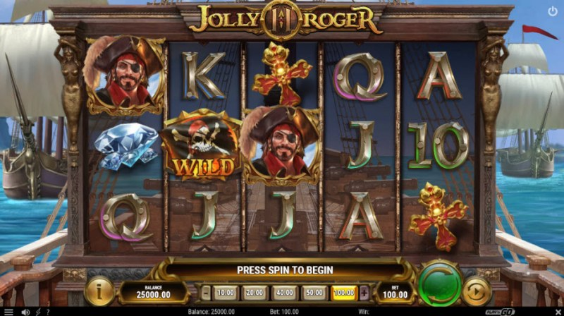 Jolly Roger II :: Main Game Board