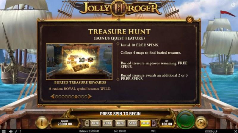 Jolly Roger II :: Treasure Hunt