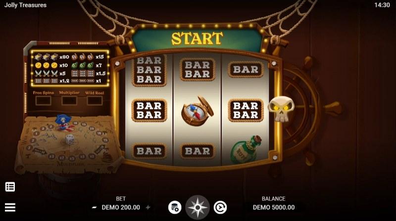 Jolly Treasures :: Main Game Board