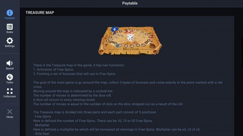 Jolly Treasures :: Treasure Map
