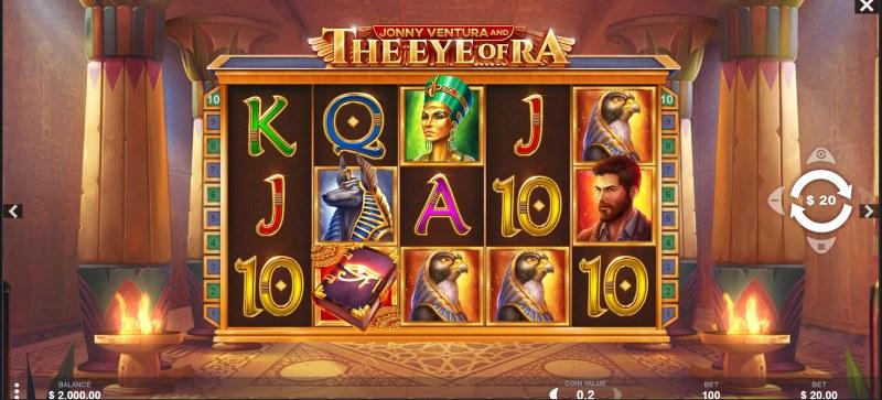 Jonny Ventura and The Eye of Ra :: Main Game Board
