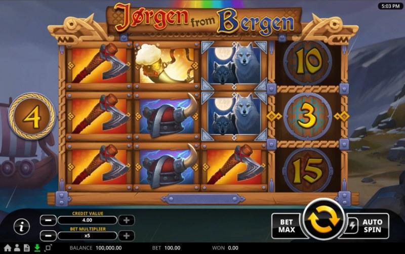 Jorgen from Bergen :: Main Game Board