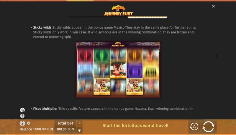 Journey Flirt :: Sticky Wilds