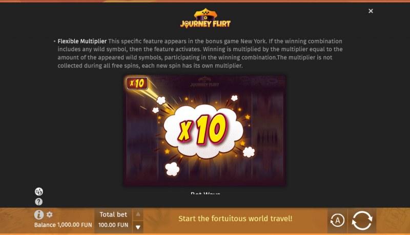 Journey Flirt :: Flexible Multiplier