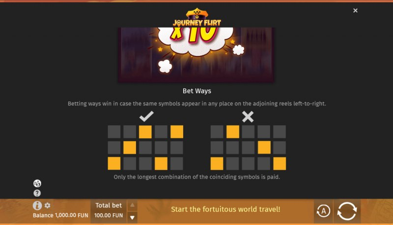 Journey Flirt :: 243 Ways to Win