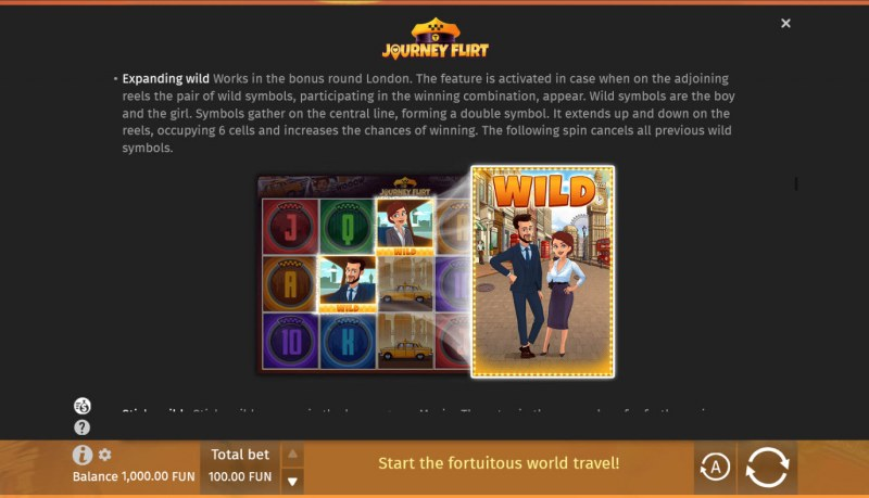 Journey Flirt :: Expanding Wild