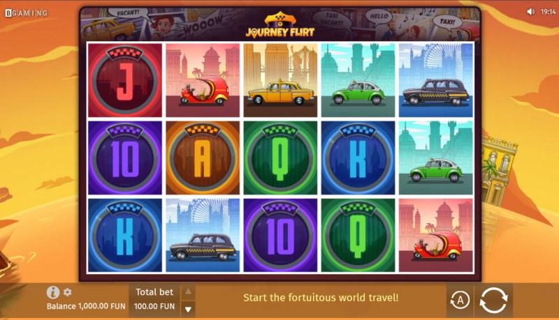 Journey Flirt :: Base Game Screen