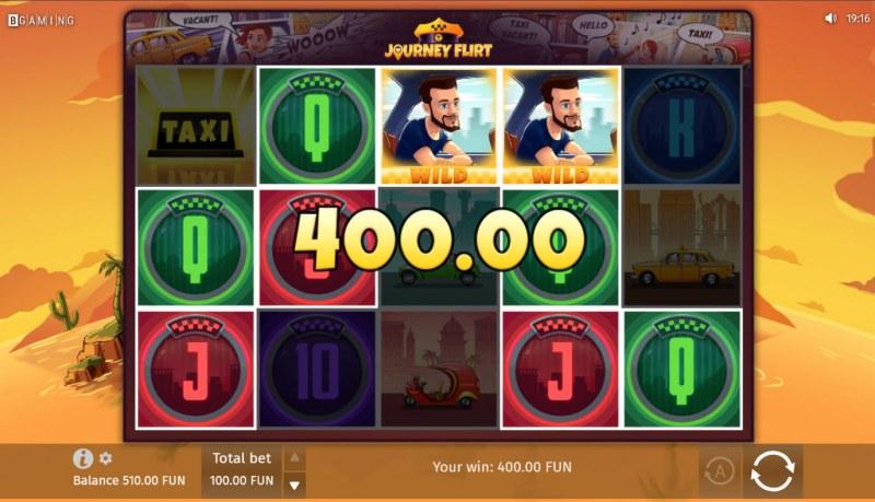 Journey Flirt :: Multiple winning combinations lead to a big win
