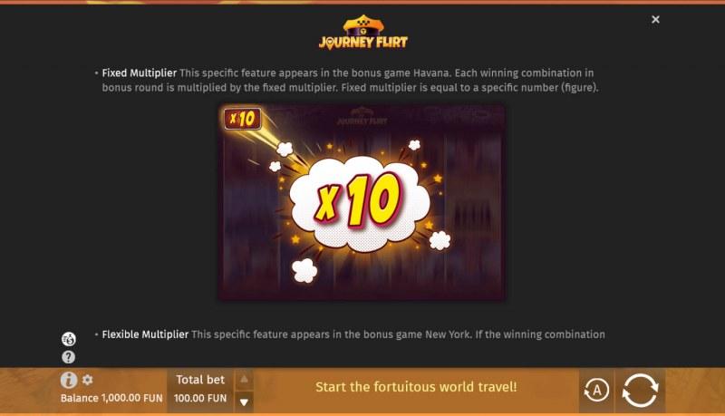 Journey Flirt :: Fixed Multiplier