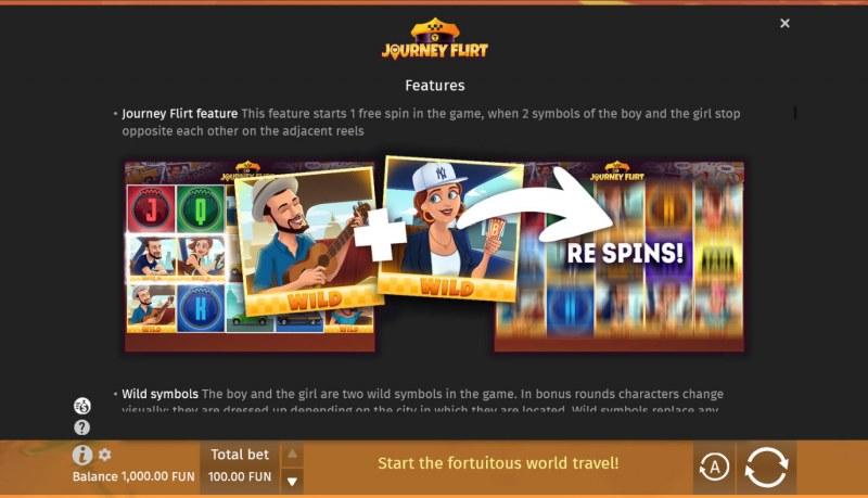 Journey Flirt :: Feature Rules