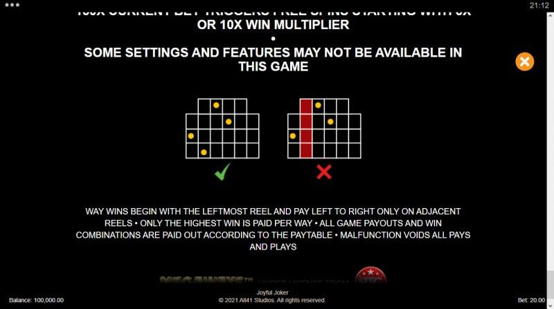 Joyful Joker Megaways :: 117649 Ways to Win