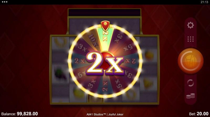 Joyful Joker Megaways :: 2x Multiplier awarded