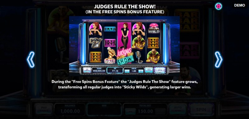 Judges Rule the Show :: Feature Rules