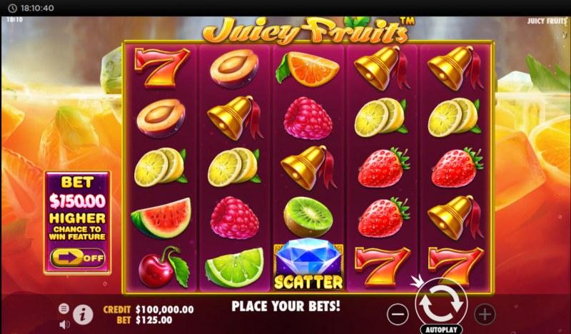 Juicy Fruits :: Main Game Board