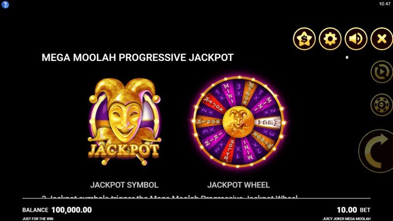 Juicy Joker Mega Moolah :: Mega Moolah Progressive Jackpot