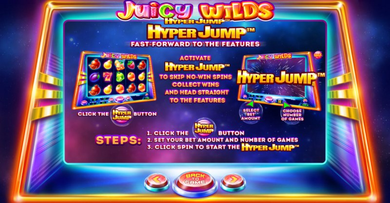 Juicy Wilds :: Hyper Jump Feature