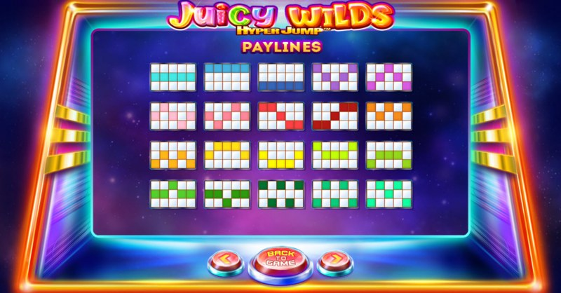 Juicy Wilds :: Paylines 1-20