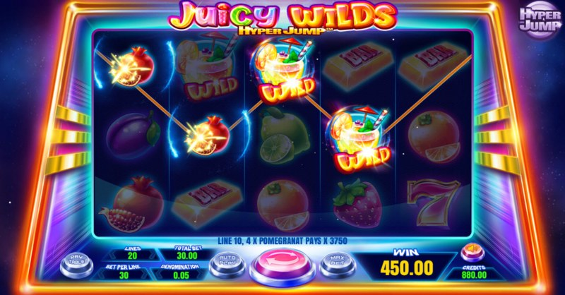 Juicy Wilds :: Four of a kind