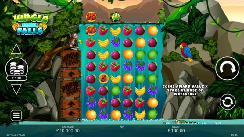 Jungle Falls :: Main Game Board