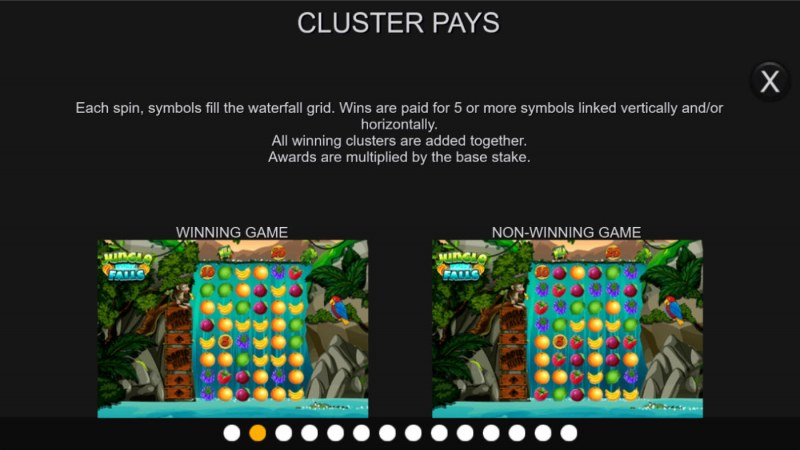 Jungle Falls :: Cluster Pays