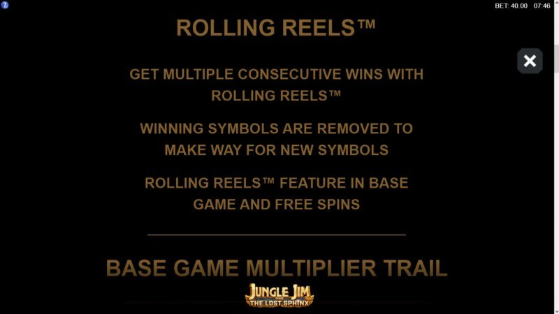 Jungle Jim and the Lost Sphinx :: Rolling Reels
