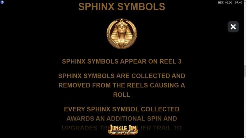 Jungle Jim and the Lost Sphinx :: Sphinx Symbol