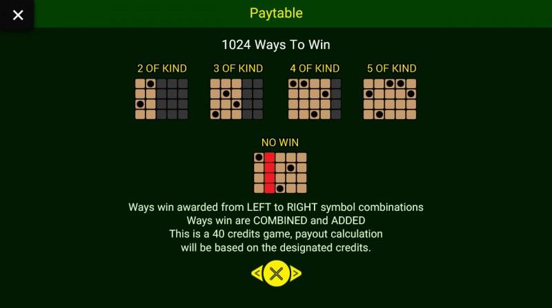 Jungle King :: 1024 Ways to Win